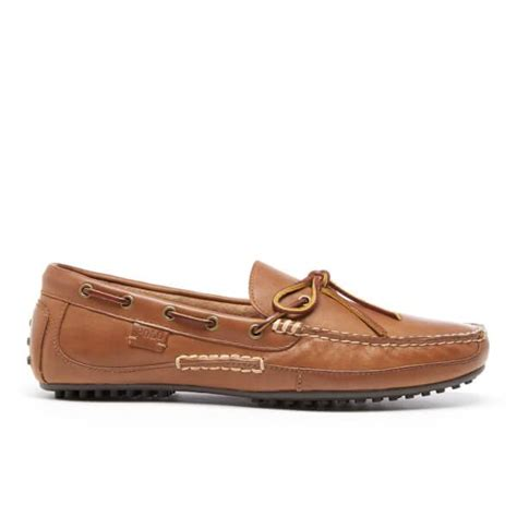 ralph leather loafers polo ralph s wyndings leather loafers in brown