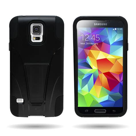 galaxy s5 rugged rugged dual layer protective phone cover for samsung