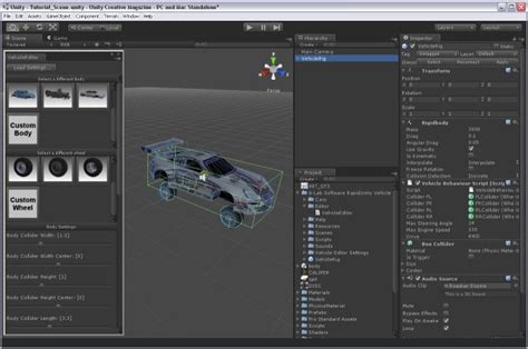 tutorial php unity download configure import and drive your own cars in