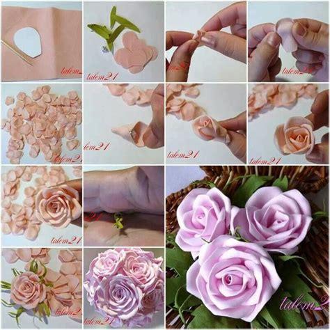 come fare fiori in tessuto 1000 idee su di stoffa su fiori in