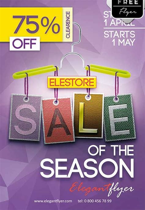 photoshop templates for sale sale of season free psd flyer template http