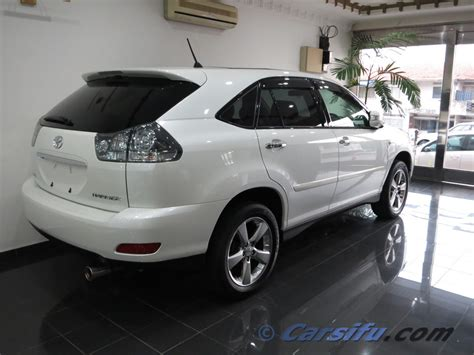 toyota harrier 2010 for sale toyota harrier 2 4 premium l for sale in klang valley by