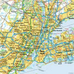 New York New York Map by Geography Blog Maps New York City