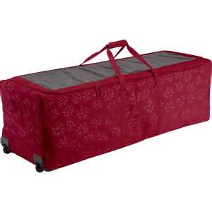classic accessories rolling christmas tree storage duffel