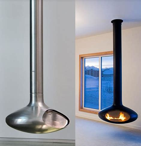 Ceiling Mounted Fireplace - ceiling mounted fireplaces 9 coolest ceiling fireplace