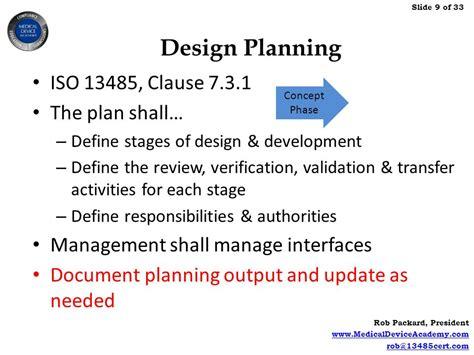 design transfer definition combining product risk management design controls ppt