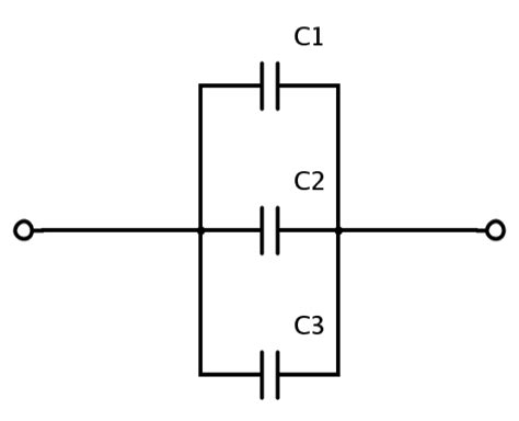 capacitor parallel connection calculator what are series and parallel circuits