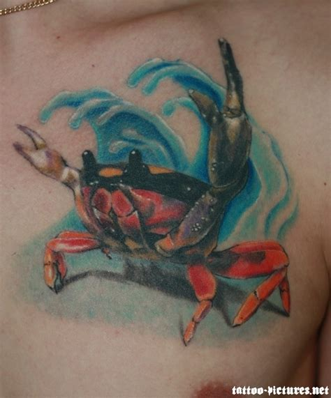 crab tattoo see more stunning tattoo design at
