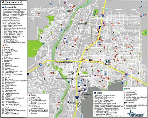 albuquerque map map albuquerque afputra