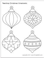 printable ornaments to color and cut christmas tree ornaments printable templates coloring
