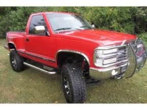 sold 1994 chevy silverado 1500 reg cab stepside z71 lift