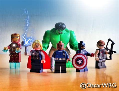 Lego Thor lego marvel ironman tonystark thor nickfury captainamerica steverogers