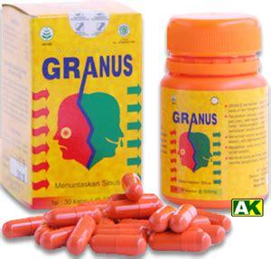 Granus Vitamin Obat Sinus Gurah Granus Obat Herbal Herbat 187 herbal formulasi toko herbal amwah