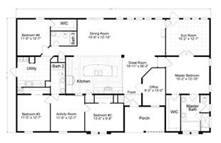 Mobile Homes Floor Plans by Gallery For Gt Triple Wide Manufactured Homes Floor Plans