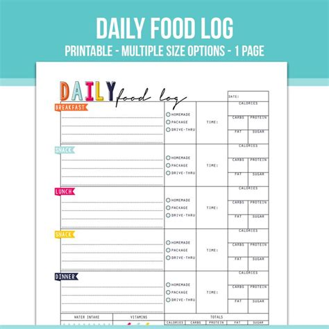 printable daily meal calendar 1000 ideas about food log on pinterest food journal