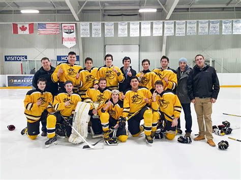 mustang tournament mustang boys take burlington bur hockey tournament
