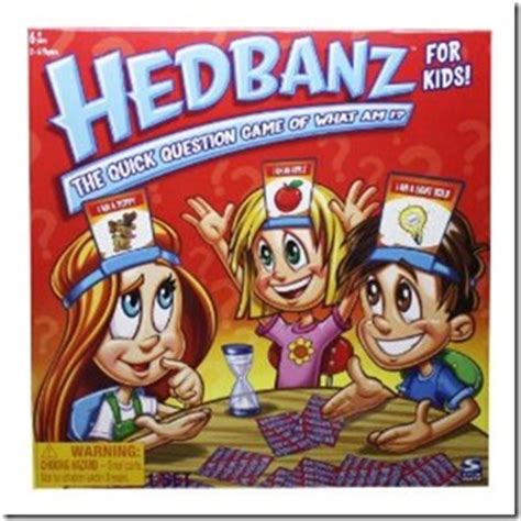 Hedbandz For hedbanz for ages 7 and up educational and