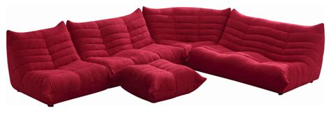 Comfortable Modern Sectional by Bloom Microfiber Fabric Ultra Comfortable Sectional Sofa Modern Sectional Sofas By New