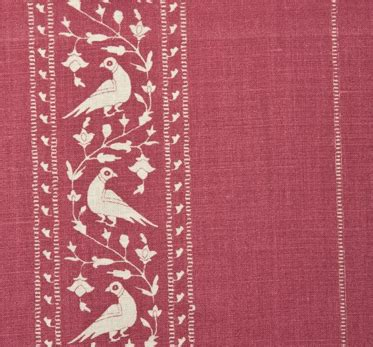 lisa fine fabric baroda ii pomegranate