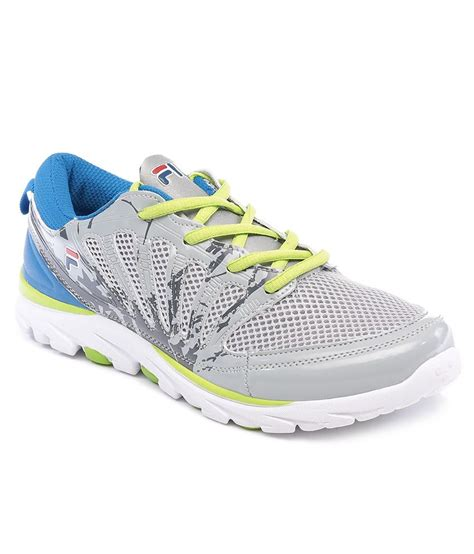 fila sport shoes fila legend gray sport shoes price in india buy fila