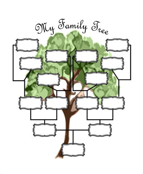 19 family tree templates free premium templates