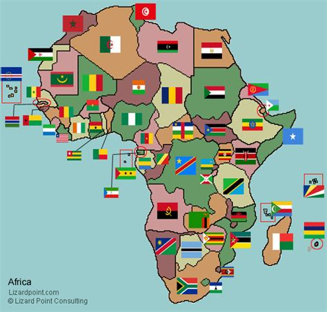 africa map countries quiz test your geography knowledge africa country flags
