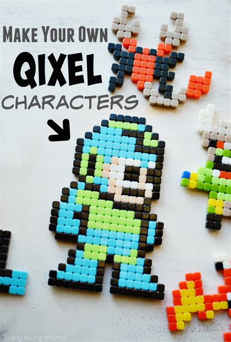make your own character make your own characters with qixels