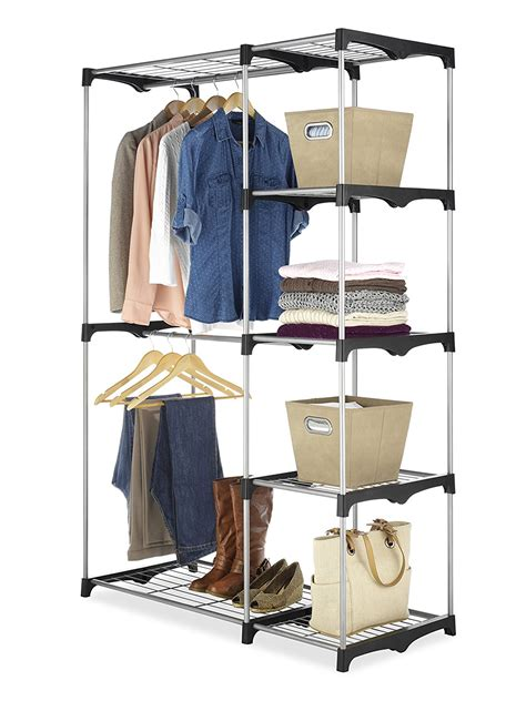 Whitmor Rod Freestanding Closet by Whitmor 6779 3044 Rod Freestanding Closet With
