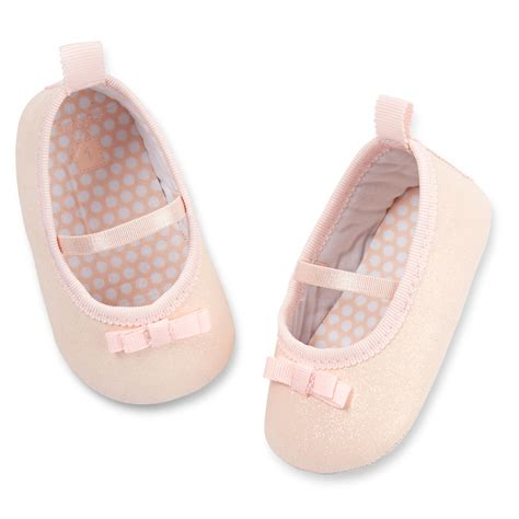 Carters Crib Shoes by S Sparkle Crib Shoes Carters