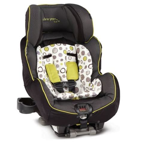 The Years True Fit Recline Convertible Car Seat by Years True Fit Convertible Recline Car Seat Black