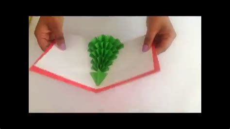 how to make a tree pop up card how to make a 3d tree pop up card