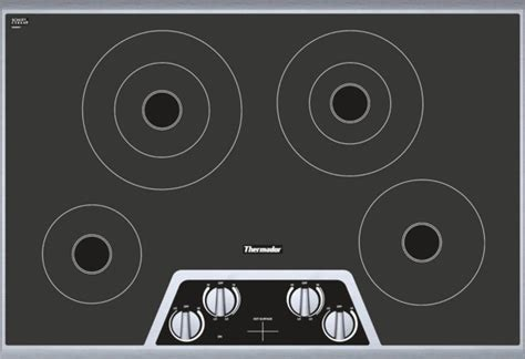 thermador cem304ns 30 quot masterpiece series electric cooktop