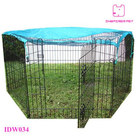 playpen slipcover pet wire playpen folding metal dog fence with cover id