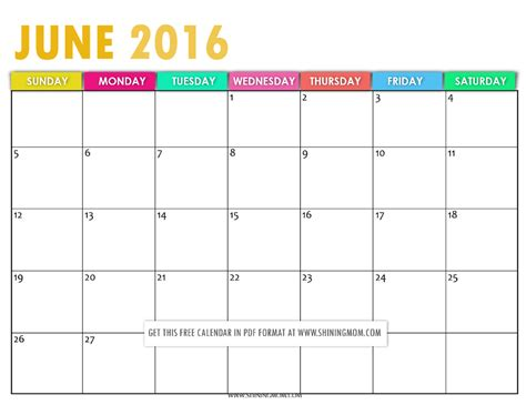 printable calendar 2016 pretty search results for june calendar pretty calendar 2015