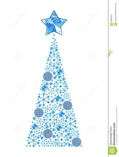 christmas tree stock illustration image 62882612