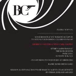 james bond theme maybe for bachelorette party it would