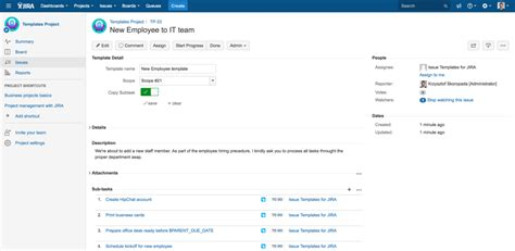 templates for jira issue templates for jira atlassian marketplace