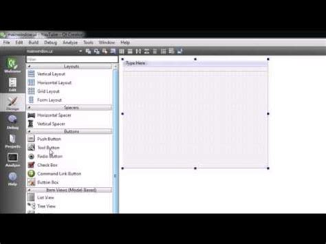 tutorial qt gui c gui with qt tutorial 2 creating a simple project