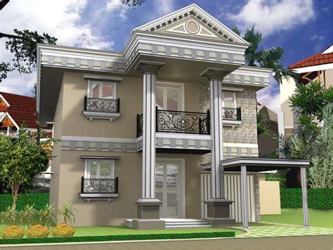 gambar layout rumah 2 lantai gambar desain rumah 2 lantai minimalis design arsitektur