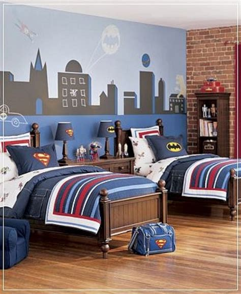 Superhero Bedroom Ideas Design Dazzle Room Decor For Boys