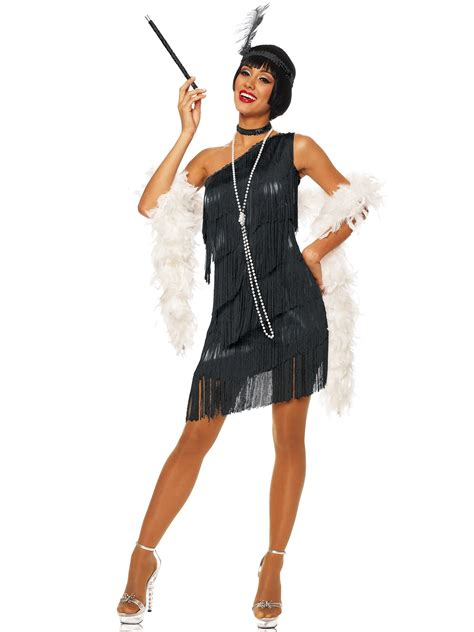womens rag time flapper black costume wholesale 20s medieval guinevere dress costume large size 12 14