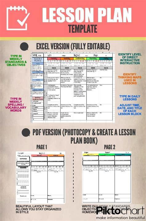 lesson plan template i run read teach
