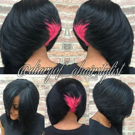 hair styles by shaunta in dallas texas cotton candy bob follow me diaryof ahairstylist mk