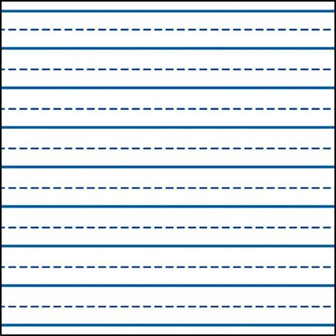 writing template with lines kindergarten lines story picture search results
