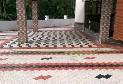 kerala home design tiles car porch tiles v con industries paving tiles