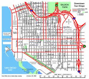 San Diego Street Map philip erdelsky s map page