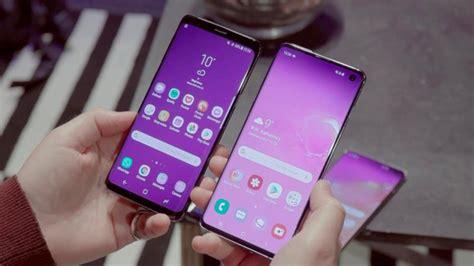 Samsung Galaxy S10 Vs S9 by Comparativa Samsung Galaxy S10 Vs Galaxy S9 Pcworld