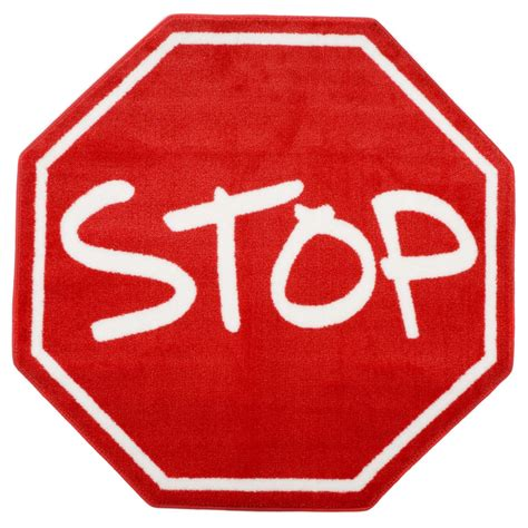 rug stop l a rugs stop sign area rug daycare rugs at hayneedle clipart best clipart best