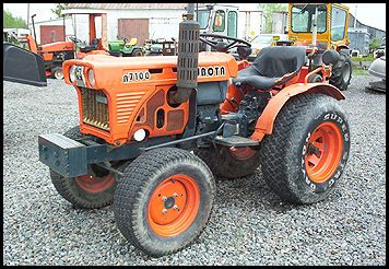 Kubota B7100 Specifications Attachments