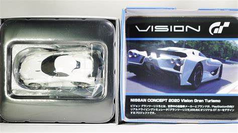 Tomytec Nissan Concept 2020 Vision Gran Turismo tomica tomytec vintage neo gt nissan concept 2020 vision